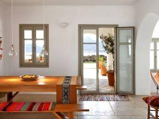 Proyectos de interiorismo varios estudio 60/75 Modern dining room