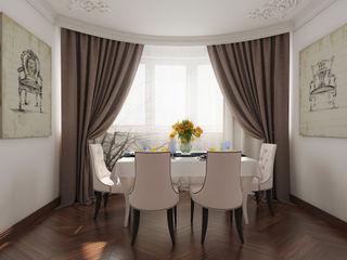 YES-designs Sala da pranzo eclettica Bianco