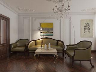 YES-designs Soggiorno eclettico Bianco