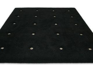 Leone edition Walls & flooringCarpets & rugs Wool Black