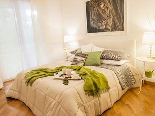 Loredana Vingelli Home Decor BedroomBeds & headboards Wood Beige