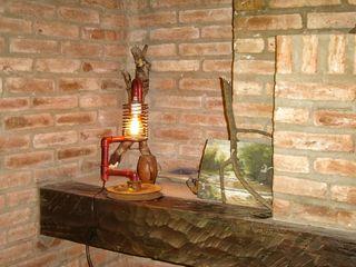 Lampara Industrial Polea Lamparas Vintage Vieja Eddie LivingsIluminación Hierro/Acero