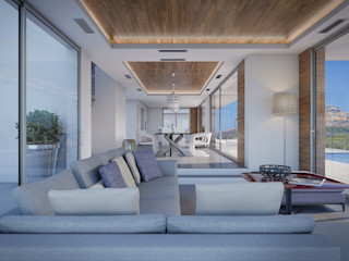 Villa Dione Miralbo Excellence Modern living room