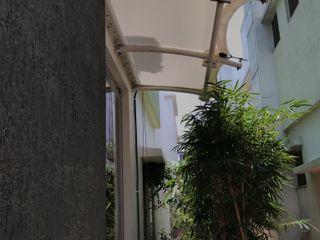 Fabritech India Balcon, Veranda & Terrasse modernes
