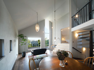 Mimasis Design/ミメイシス デザイン Modern living room White