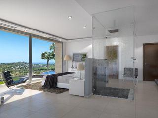 Villa Cosmos Miralbo Excellence Modern style bedroom