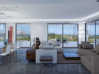 Villa Andromeda Miralbo Excellence Modern living room