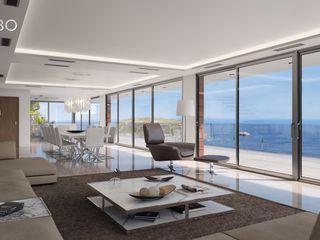 Villa Poseidon Miralbo Excellence Modern living room