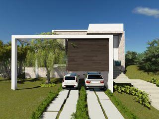 Renata Matos Arquitetura & Business Modern houses