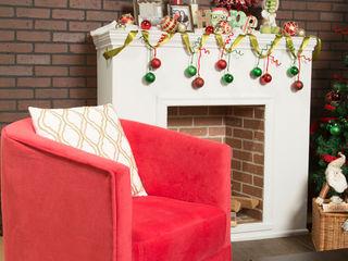 Idea Interior Salas/RecibidoresSofás y sillones Rojo
