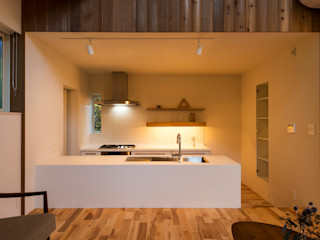 エヌ スケッチ Eclectic style kitchen