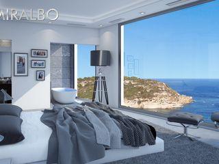 Villa Onyx Miralbo Excellence Modern style bedroom