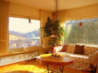 Home Staging Fotografie / Immobilienfotografie wohnausstatter WohnzimmerCouch- und Beistelltische