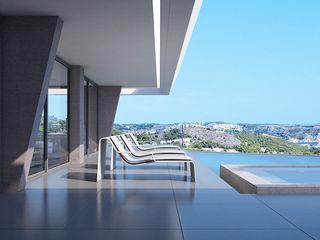 Miralbó Excellence Moderne balkons, veranda's en terrassen