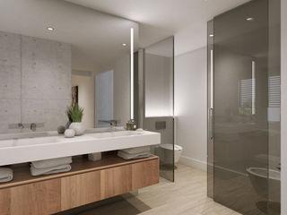 Suite moderna y acogedora Disak Studio Baños de estilo moderno