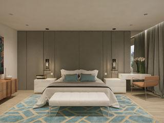 Suite moderna y acogedora Disak Studio Dormitorios de estilo moderno