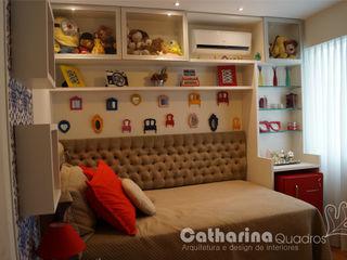 Catharina Quadros Arquitetura e Interiores Nowoczesny pokój dziecięcy