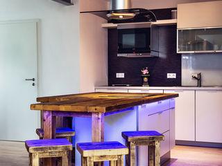 Kochinsel mit Bar edictum - UNIKAT MOBILIAR KücheTische und Sitzmöbel