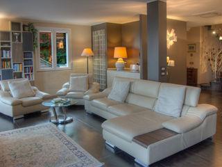 Villa - interni Emilio Rescigno - Fotografia Immobiliare SoggiornoDivani & Poltrone