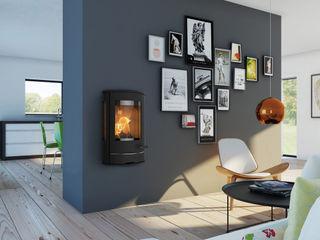Liva Serie Speicherofen Bernhard Schleicher e.K. Living roomFireplaces & accessories