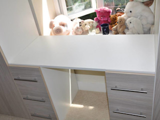 Piwko-Bespoke Fitted Furniture 臥室梳妝台 刨花板 Wood effect