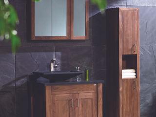 Stonearth - Walnut Stonearth Interiors Ltd Modern Bathroom Solid Wood