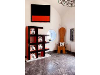 Interior Artistico Carmé Salas multimedia de estilo ecléctico