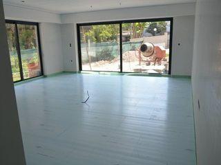 Dynamic444 (departamento de climatização) Salones de estilo moderno