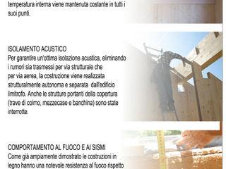 CASA SOLE STUDIO ABACUS di BOTTEON arch. PIER PAOLO Studio in stile rurale
