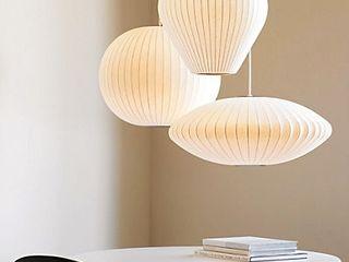 Nelson Bubble Lamps Design Within Reach Mexico ComedorIluminación Blanco