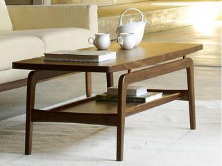 Skagen Coffee & Nesting Tables Design Within Reach Mexico SalasMesas de centro y auxiliares Madera Acabado en madera