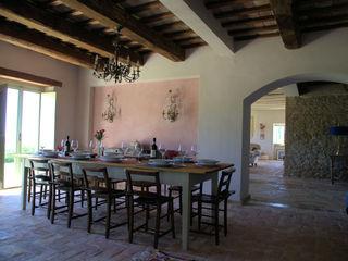Ing. Vitale Grisostomi Travaglini Rustic style living room