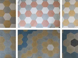 TOMASELLO SRL PAVIMENTI D'EPOCA REALIZZATI OGGI Paredes y suelos de estilo moderno Azulejos