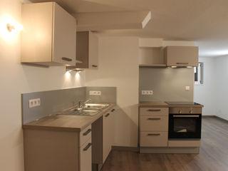 Agence ADI-HOME Dapur Modern Komposit Kayu-Plastik Grey