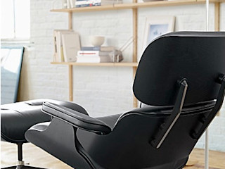 Eames® Lounge Chair and Ottoman Design Within Reach Mexico SalasSalas y sillones Cuero Negro