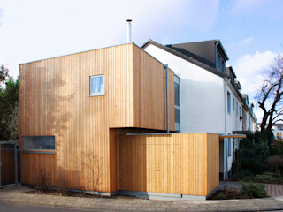 DANKE Architekten Garage/Rimessa in stile moderno