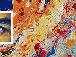 Titelbild Dietrich Art Kunst Bilder & Gemälde Flachs/Leinen Orange