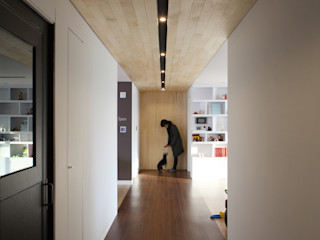 designband YOAP Couloir, entrée, escaliers modernes