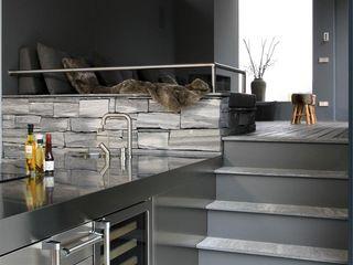 Arend Groenewegen Architect BNA Dapur Modern Granit Grey