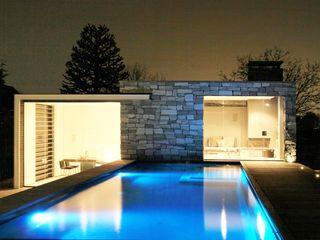 Arend Groenewegen Architect BNA Kolam Renang Modern Granit Grey