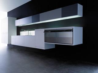 AERO 1 ARCE FLORIDA Cocinas de estilo minimalista Madera Blanco