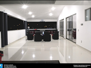 Excelencia en Diseño Modern Terrace Granite White
