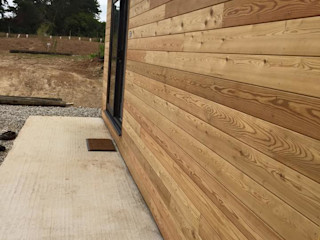 Micro Lodge - Truro 2015 Building With Frames Modern Houses Wood