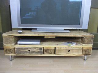 Sideboards - Lowboards aus gebrauchten Europaletten Woodupcycling WohnzimmerSchränke und Sideboards