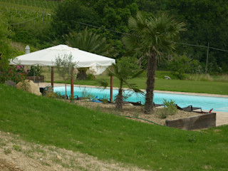 Ing. Vitale Grisostomi Travaglini Rustic style pool