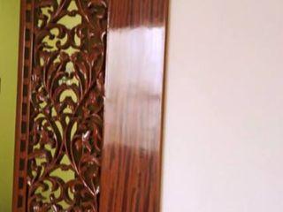 Alaya D'decor Corridor, hallway & stairsSeating Kayu Brown