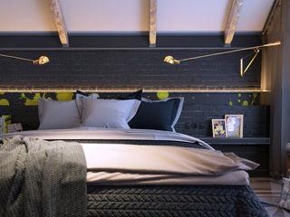 Vashantsev Nik Camera da letto in stile scandinavo