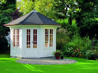 Gartenhaus2000 GmbH Vườn phong cách kinh điển Gỗ