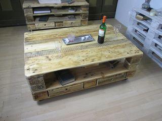 Tische Woodupcycling WohnzimmerCouch- und Beistelltische