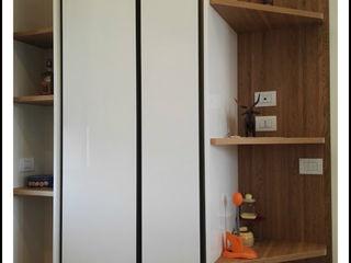Formarredo Due design 1967 Moderne Küchen Glas Weiß